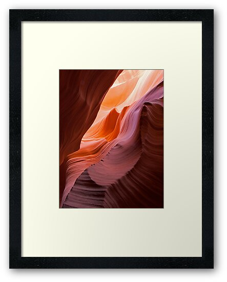 Waves at Antelope Canyon, Arizona  by Alex Cassels