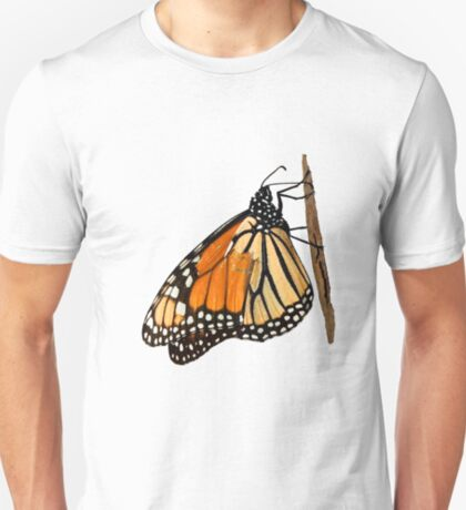 Monarch Butterfly closeup on a twig II T-Shirt
