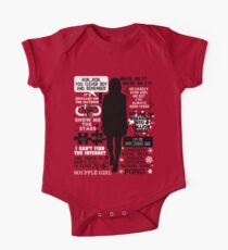 Doctor Who - Clara (Oswin) Oswald Quotes Kids Clothes