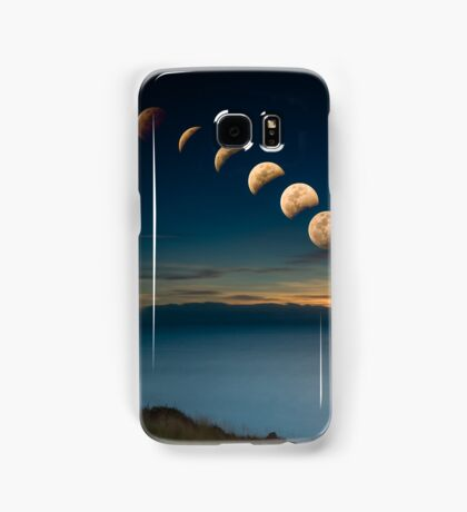 Lunar Eclipse Townsville Samsung Galaxy Case/Skin