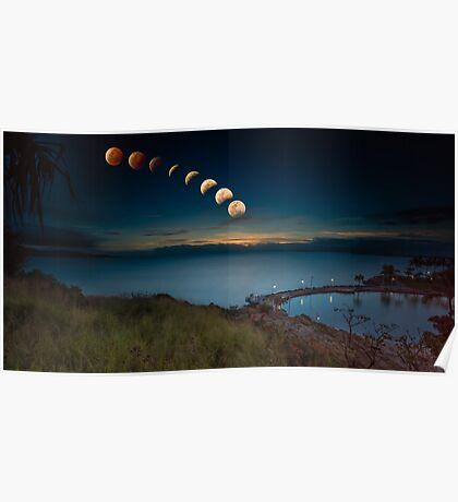 Lunar Eclipse Townsville Poster