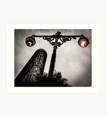 Lámina artística Flatiron Building en la ciudad de Nueva York | Nueva York, Estado de Nueva York, Manhattan