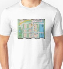 Map of Old Silent Hill T-Shirt