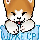 Akita-inu - Wake Up! by alisenokmouse