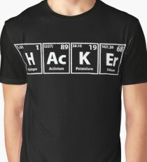 Hacker Elements Spelling Graphic T-Shirt