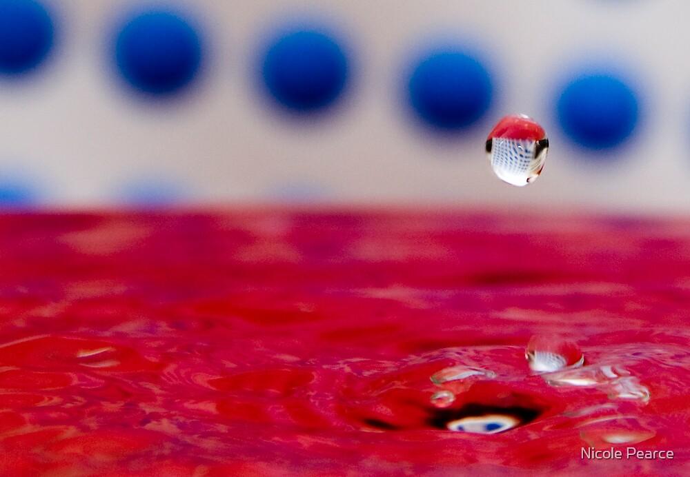 Dot dot dot drip by Nicole Pearce