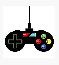 Gaming Controller Design Photographic Print