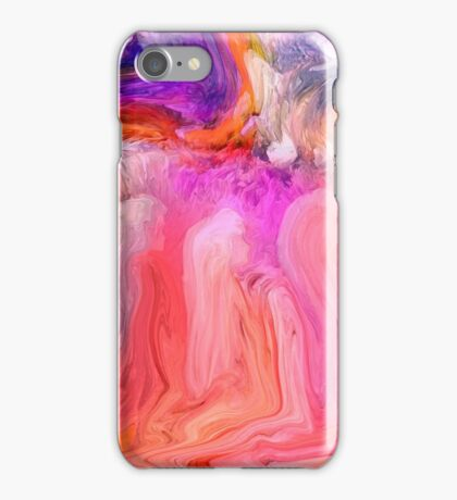 Little girls Praying, In A Dream by Sherri's Of Palm Springs iPhone Case/Skin