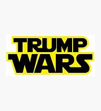 TRUMP WARS Photographic Print