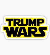 TRUMP WARS Sticker