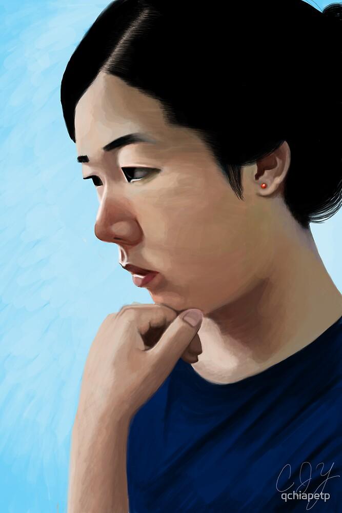 Self Portrait by qchiapetp