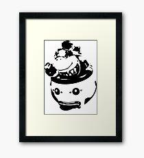 Weathered Bowser Junior Framed Print