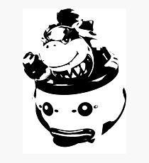 Weathered Bowser Junior Photographic Print