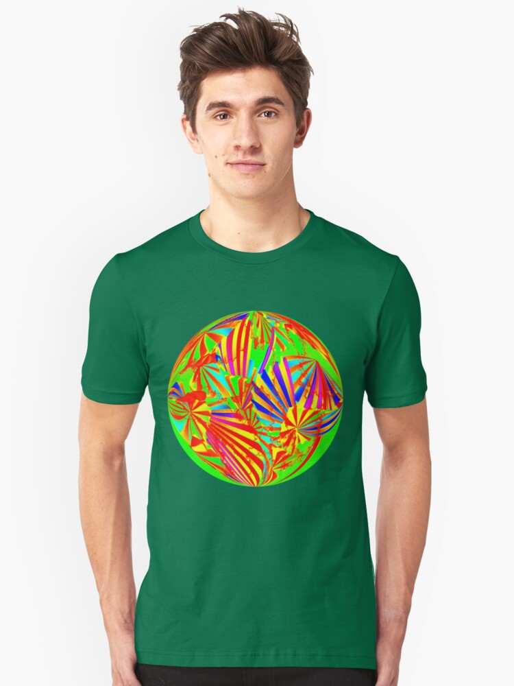 Round Wow Man It's The 60's Ts Unisex T-Shirt Front