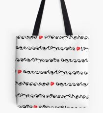Love ... inline  Tote Bag