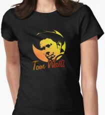 Tom Waits   Women's Fitted T-Shirt