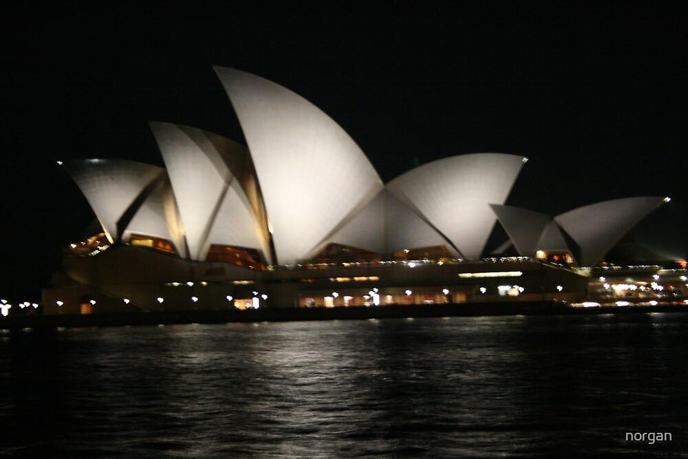 Opera House, Sydney - Night by norgan