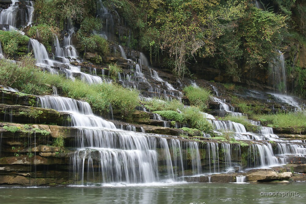 Small waterfalls by cmooreprints