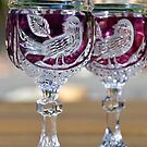 Crystal Wine Glasses by TheaShutterbug