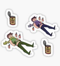 Joseph Joestar Spaghetti Stickers Sticker