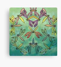 Dragonfly Mash-up 2 Canvas Print