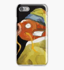 Magikarp with the pearl earring iPhone Case/Skin