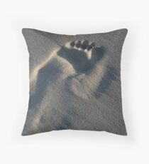 Footstep Throw Pillow