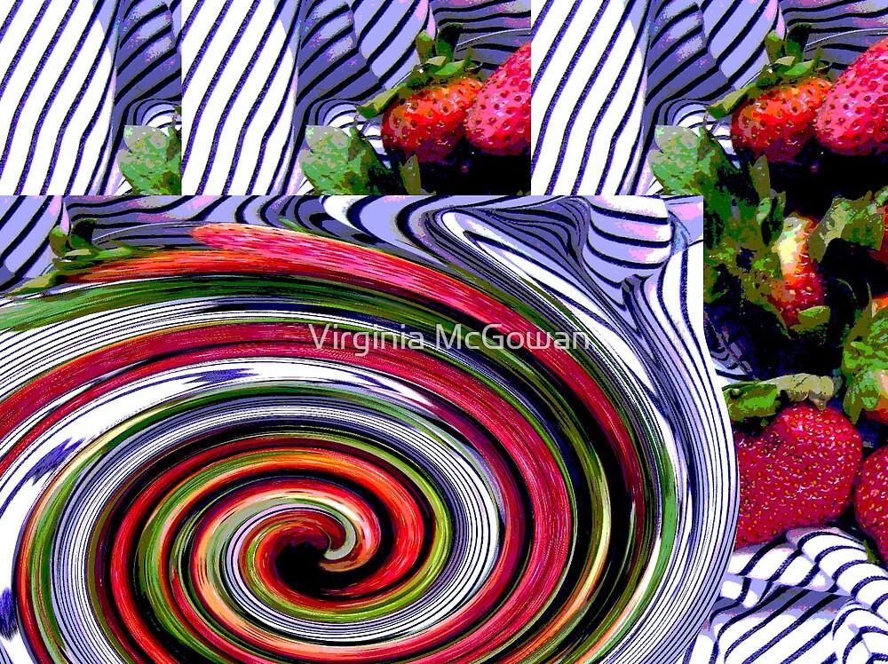 Strawberry Swirl by Virginia McGowan