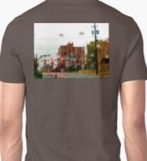 Rainy Downtown Unisex T-Shirt