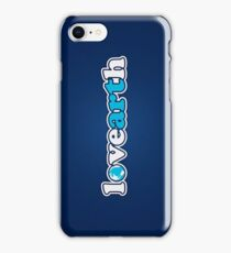 lovearth *blue iPhone Case/Skin