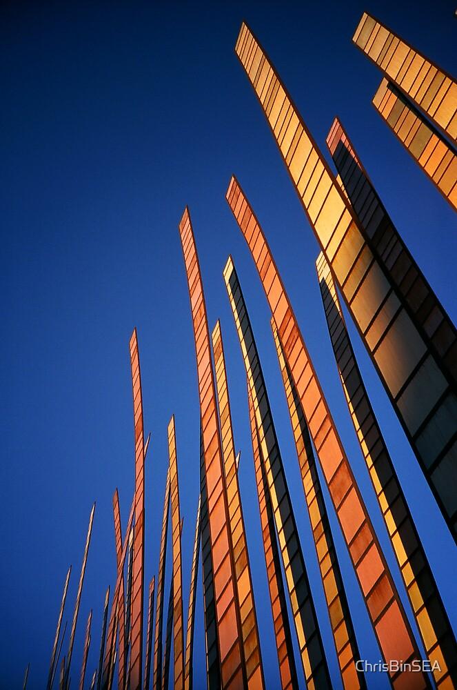 pylons by ChrisBinSEA