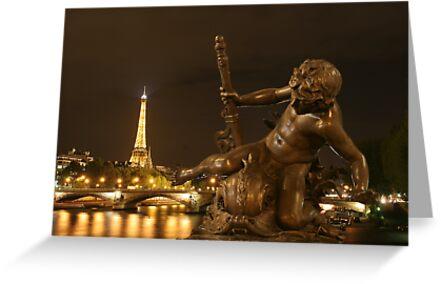 Paris by Night by Christophe Testi