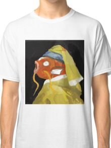 Magikarp with the pearl earring Classic T-Shirt