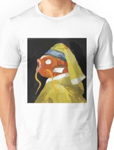 Magikarp with the pearl earring Unisex T-Shirt