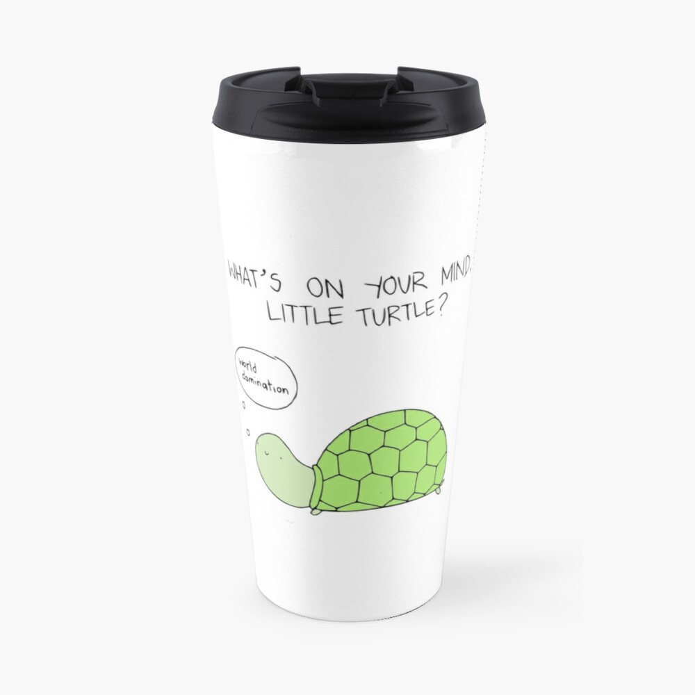 Turtle World Domination Travel Mug