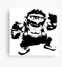 Weathered Wario Canvas Print