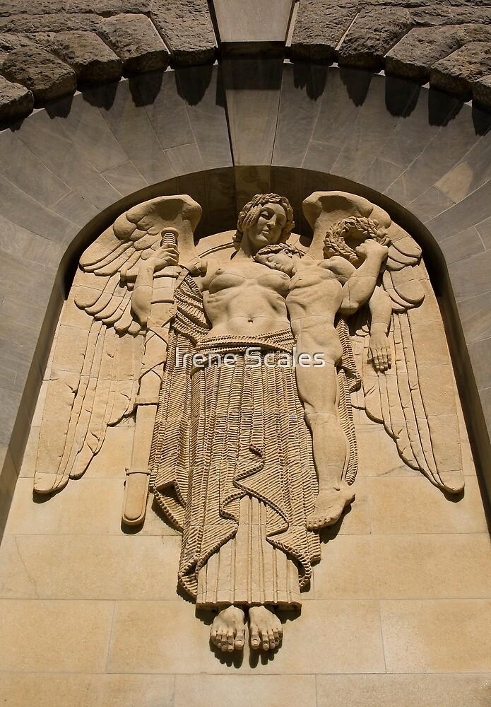 War Memorial Angel by Irene Scales