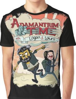 Adamantium Time (Variant) Graphic T-Shirt