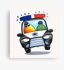 Let's Fight Crime With Mangoes and Limes Canvas Print