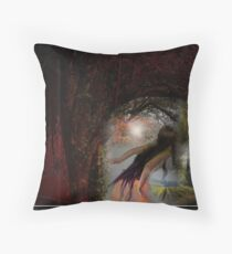Out Of The Wood Throw Pillow