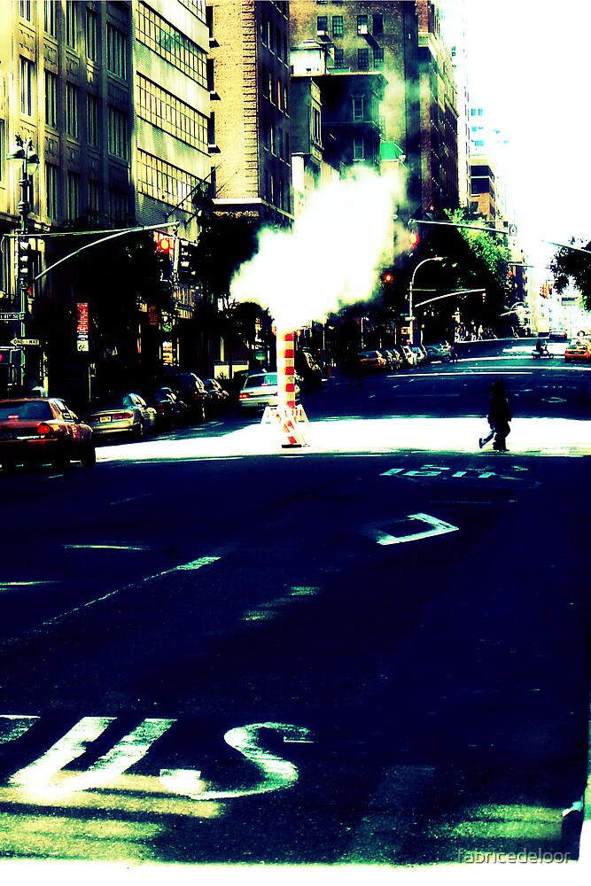 The steamy street by fabricedeloor