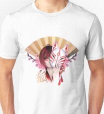 Japanese demon fox T-Shirt