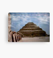 sakkara egypt Canvas Print