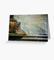 The Nidaros Cathedral in Trondheim, Norway. Greeting Card