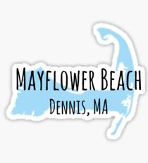 Mayflower Beach- Cape Cod Sticker