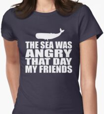 Seinfeld - The Sea Was Angry That Day My Friends Womens Fitted T-Shirt