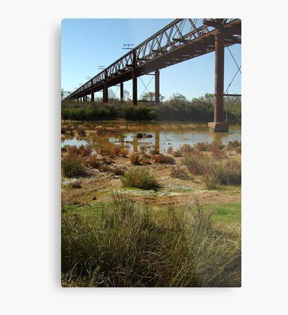 Argibuckle Bridge, Oodnadatta Track,Outback South Australia Metal Print