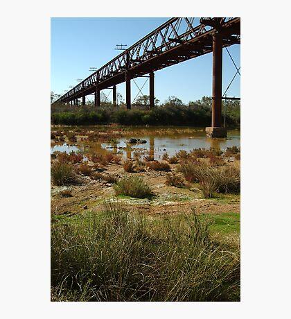 Argibuckle Bridge, Oodnadatta Track,Outback South Australia Photographic Print