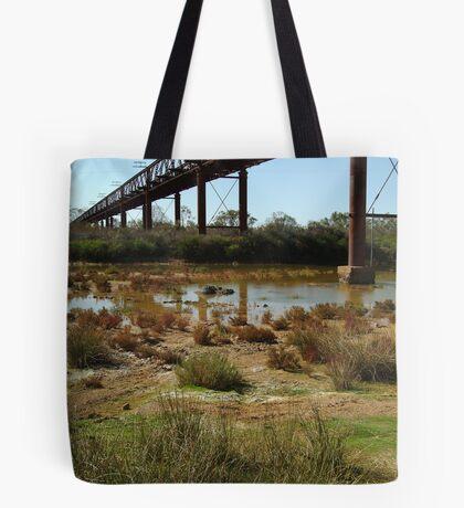 Argibuckle Bridge, Oodnadatta Track,Outback South Australia Tote Bag