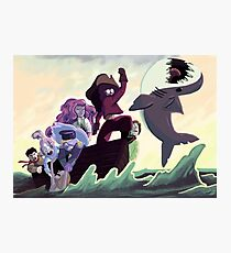 The Crystal Gems Photographic Print